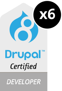 Drupal Certified Developers
